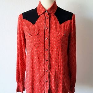 Two by Vince Camuto Western Button Down